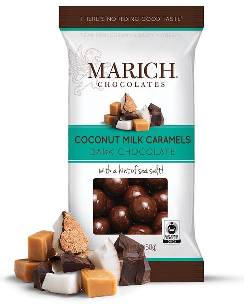 MARICH DARK CHOCOLATES COVERED COCONUT MILK CARAMELS