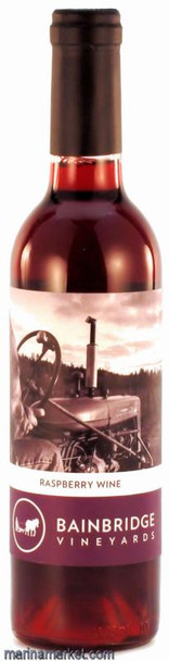 BAINBRIDGE VINEYARDS RASPBERRY 375ml