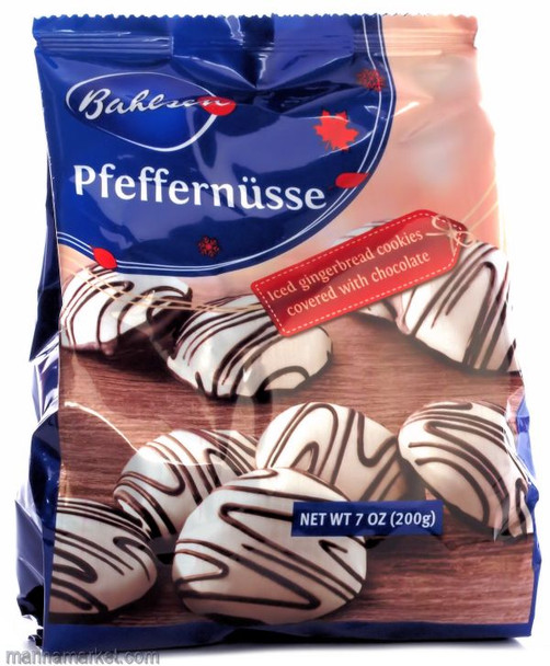 BAHLSEN CHOCOLATE PFEFFERNUSSE 200g