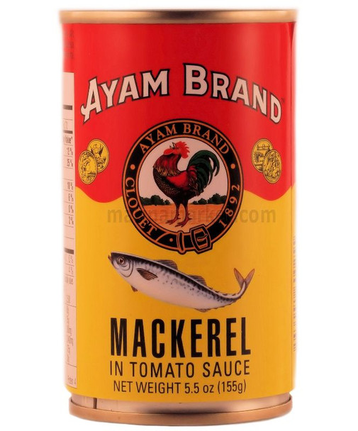 AYAM MACKEREL IN TOMATO SAUCE