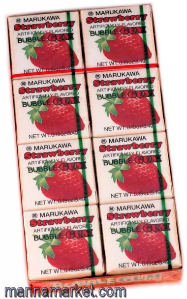 MARUKAWA STRAWBERRY GUM