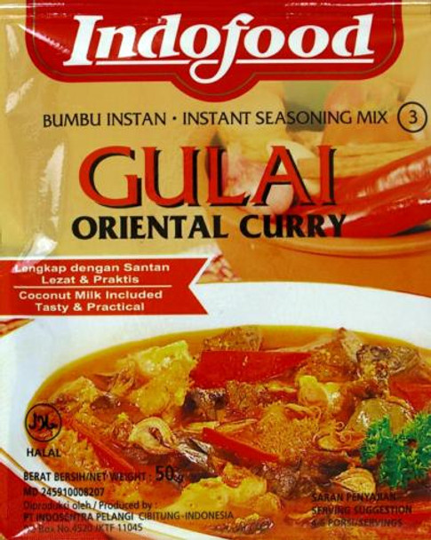 INDOFOOD GULAI ORIENTAL CURRY MIX 50 g