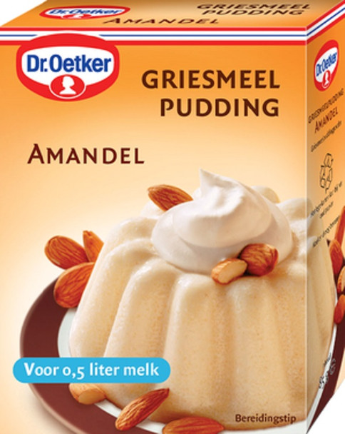 DR. OETKER ALMOND PUDDING MIX