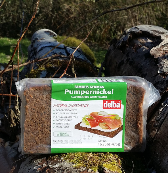 DELBA FELDKAMP PUMPERNICKEL BREAD 500g