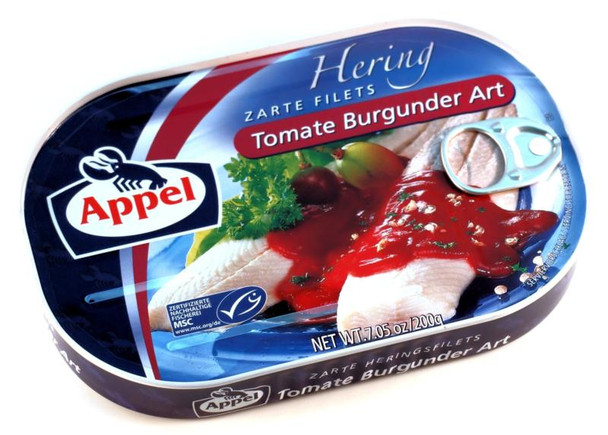 APPEL HERRING IN TOMATO BURGUNDY SAUCE 200g