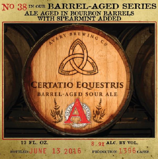 AVERY CERTATIO EQUESTRIS 12oz
