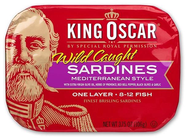 KING OSCAR MEDITERRANEAN SARDINES 106g