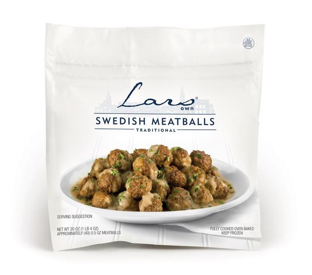 LARS SWEDISH MEATBALLS 20oz