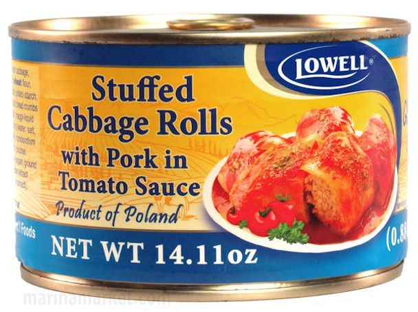 LOWELL STUFFED CABBAGE ROLLS 400g