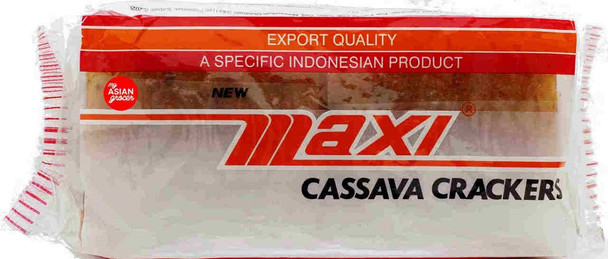 MAXI RAW CASSAVA CRACKERS 250g
