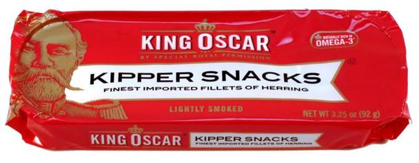 KING OSCAR KIPPER SNACKS 92g