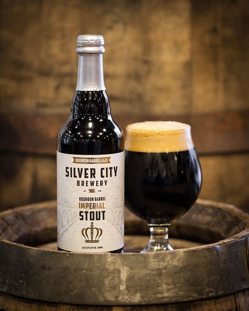 SILVER CITY BOURBON BARREL IMPERIAL STOUT 500ml