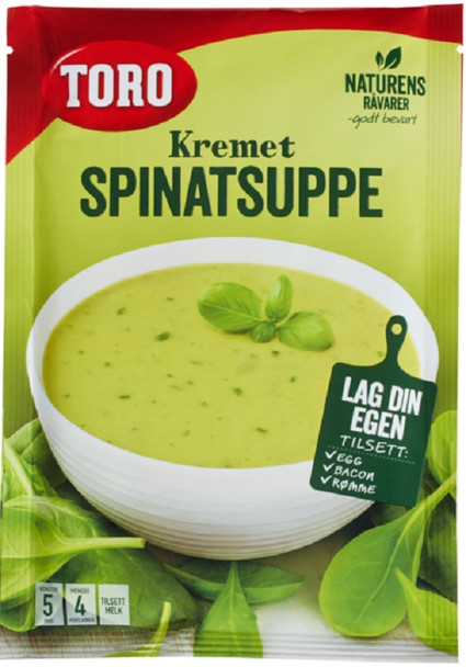 TORO SPINATSUPPE CREAM OF SPINACH SOUP 79g