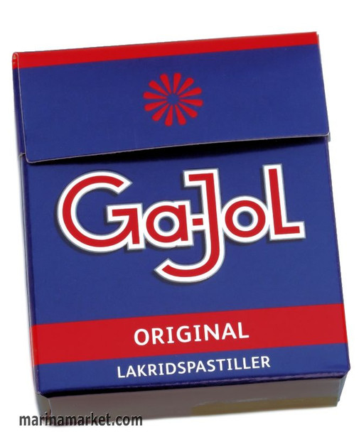 Ga-Jol Blue Box Salt Licorice 23g