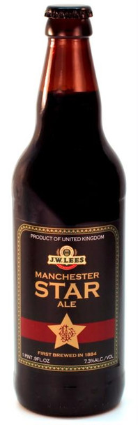 JW LEES MANCHESTER STAR ALE 500ml
