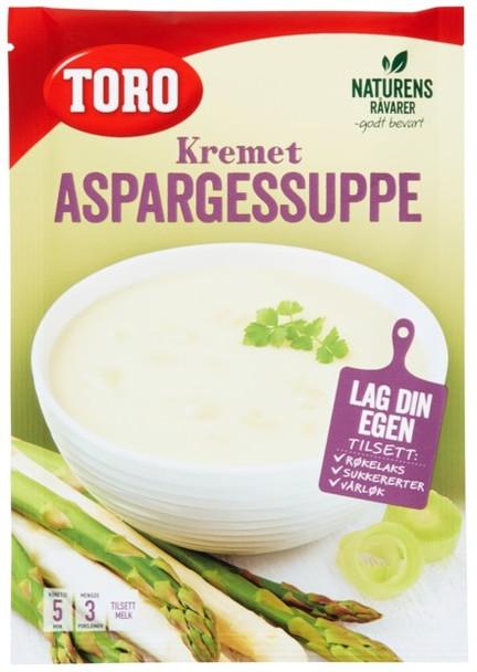 TORO KREMET ASPARGESSUPPE ASPARAGUS CREAM SOUP 54g