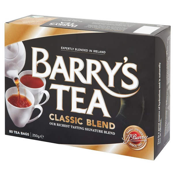 BARRY'S CLASSIC TEA 80ct