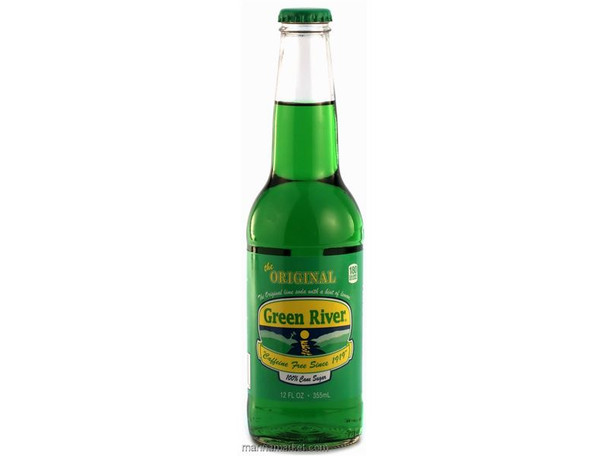 GREEN RIVER SODAGLASS BOTTLE 12oz