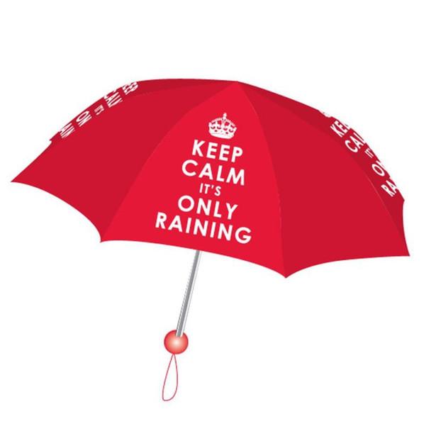 KEEP CALM IT'S RAINING UMBRELLA
