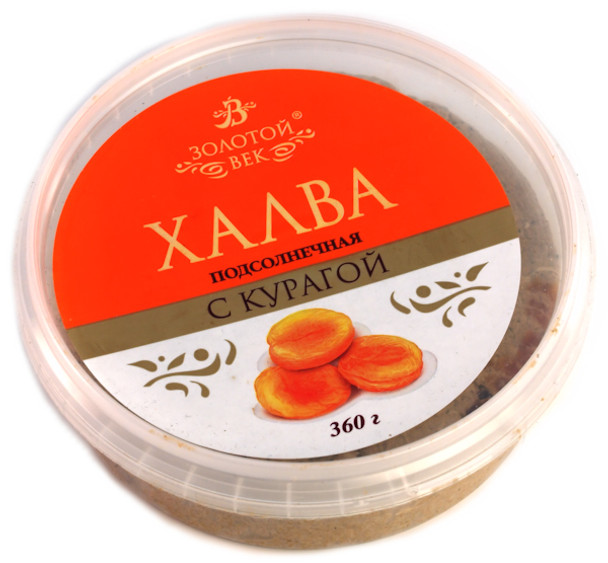 HALVA  APRICOT AND LICORICE 360g