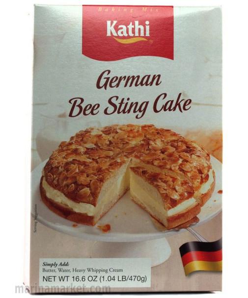 KATHI GERMAN BEE STING CAKE MIX 470g