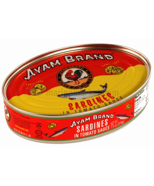 AYAM SARDINES IN TOMATO