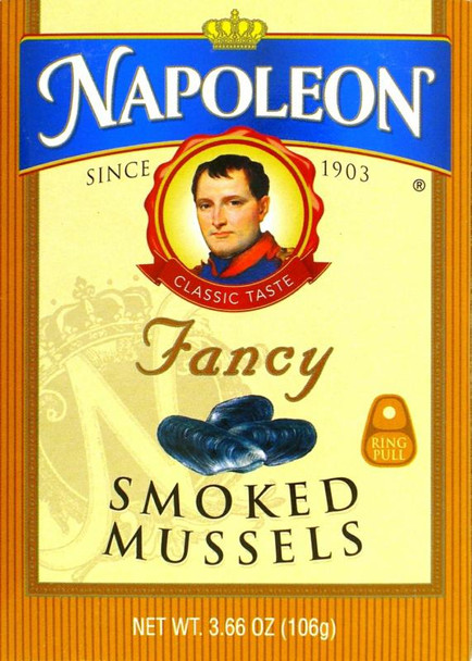 NAPOLEAN SMOKED MUSSELS 106g