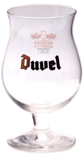 DUVEL BEER GLASS .25L
