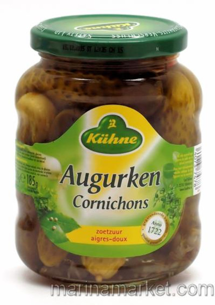 KUHNE SWEET AND SOUR PICKLES 330 g