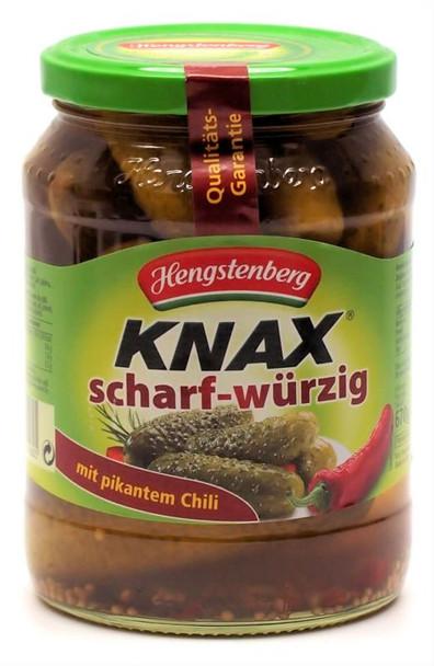HENGENSTENBERG KNAX SPICY PICKLES 670g