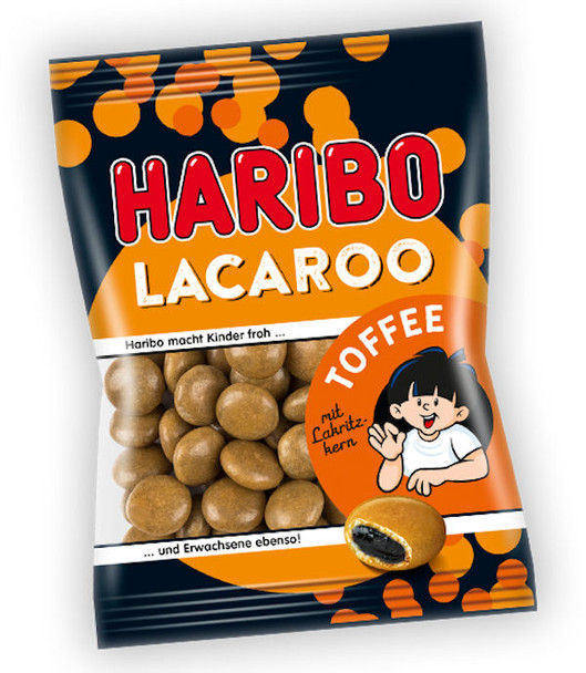 HARIBO LACAROO TOFFEE COATED LICORICE