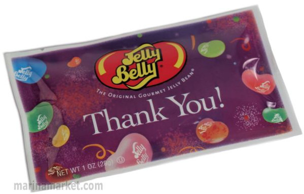 JELLY BELLY THANK YOU BAG