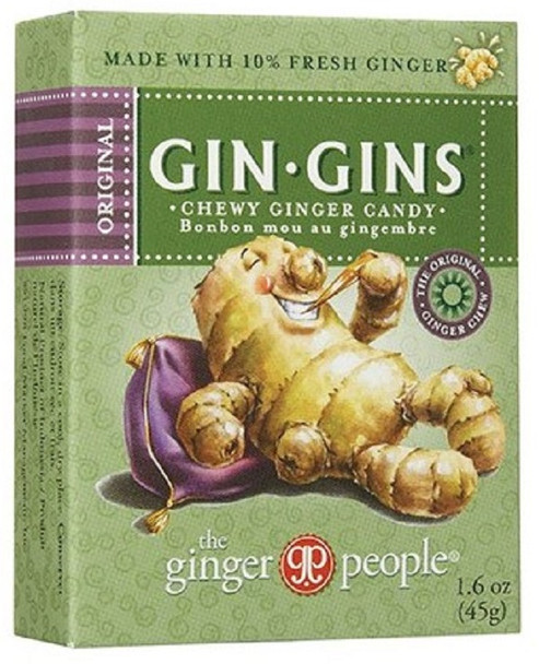 GINGER PEOPLE GIN-GINS 45g