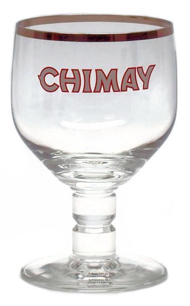 CHIMAY BEER GLASS, 6oz.