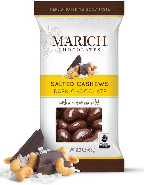 MARICH DARK SEA SALT CASHEW
