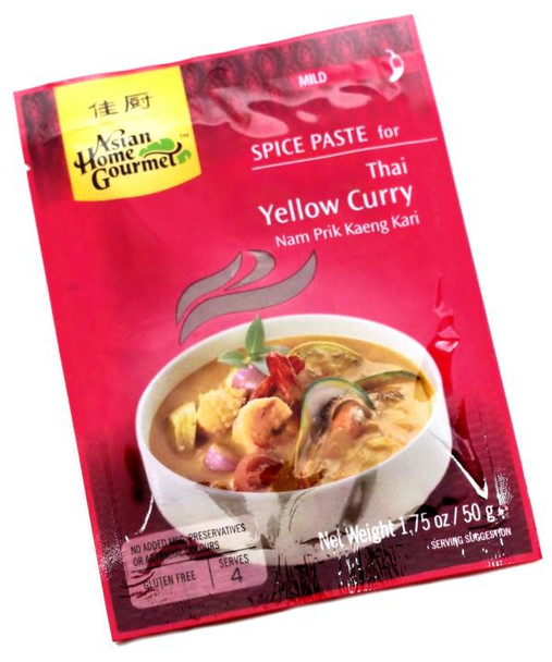 THAI YELLOW CURRY 50 g