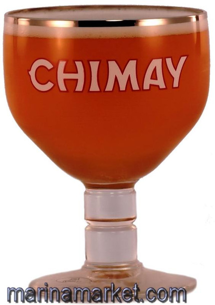 CHIMAY GLASS, .25L