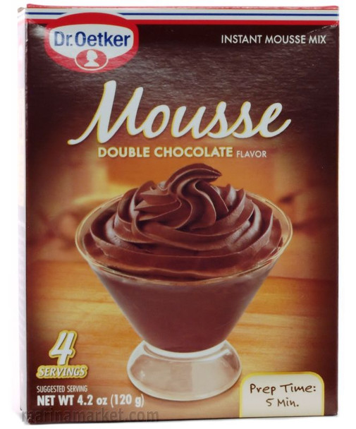 DR. OETKER DOUBLE CHOCOLATE MOUSSE MIX 87g
