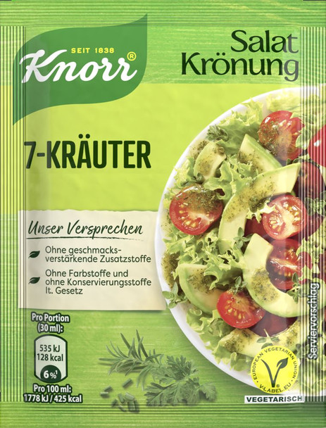 KNORR 7-KRAUTER HERB SALAD DRESSING MIX 5pk