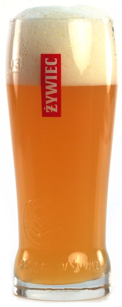ZYWIEC BEER GLASS .3L