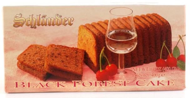 SCHLUENDER BLACK FOREST CAKE 400g