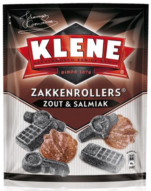 KLENE ZAKKENROLLERS ZOUT & SALMIAK 230g