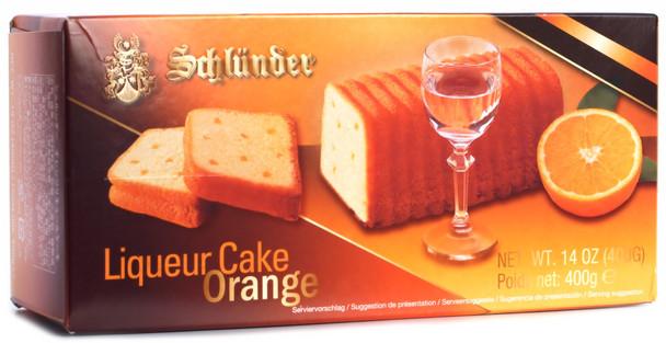 SCHLUENDER ORANGE LIQUOR CAKE 400g