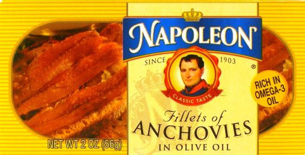 ANCHOVY IN OLIVE OIL 56G