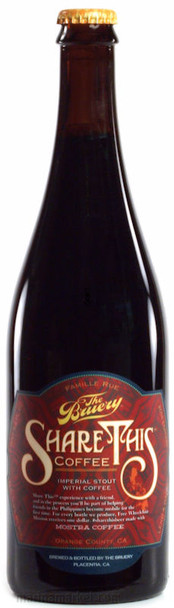 THE BRUERY SHARE THIS 750ml
