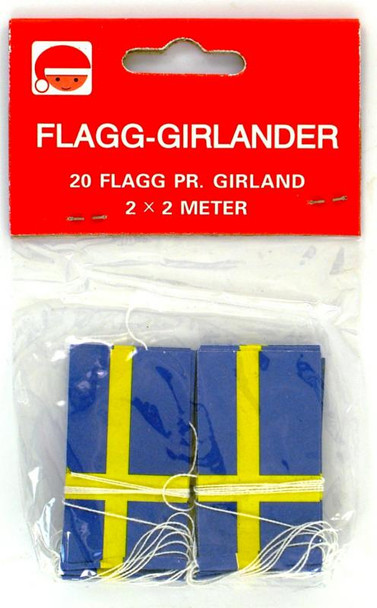 SWEDISH FLAG GARLAND