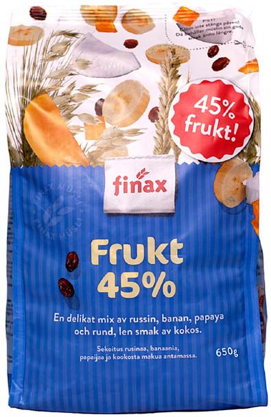 FINAX 45% FRUIT MUESLI 650g