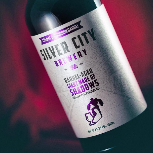 SILVER CITY BARREL AGED GIANT MADE OF SHADOWS
