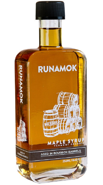 RUNAMOK BOURBON BARREL-AGED MAPLE SYRUP 250ml