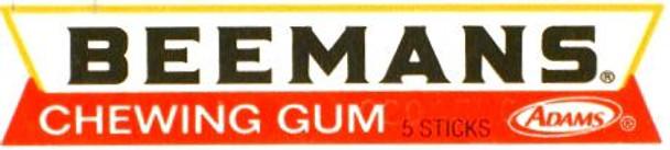 BEEMANS GUM 5 STICK PK